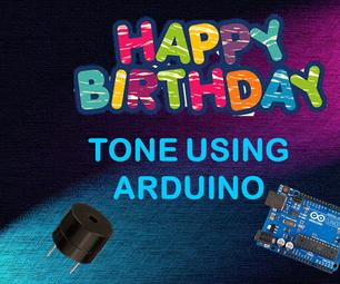 Happy Birthday Song Using Arduino Uno
