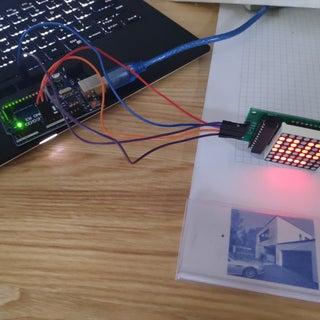 Arduino 8x8 LED Matrix