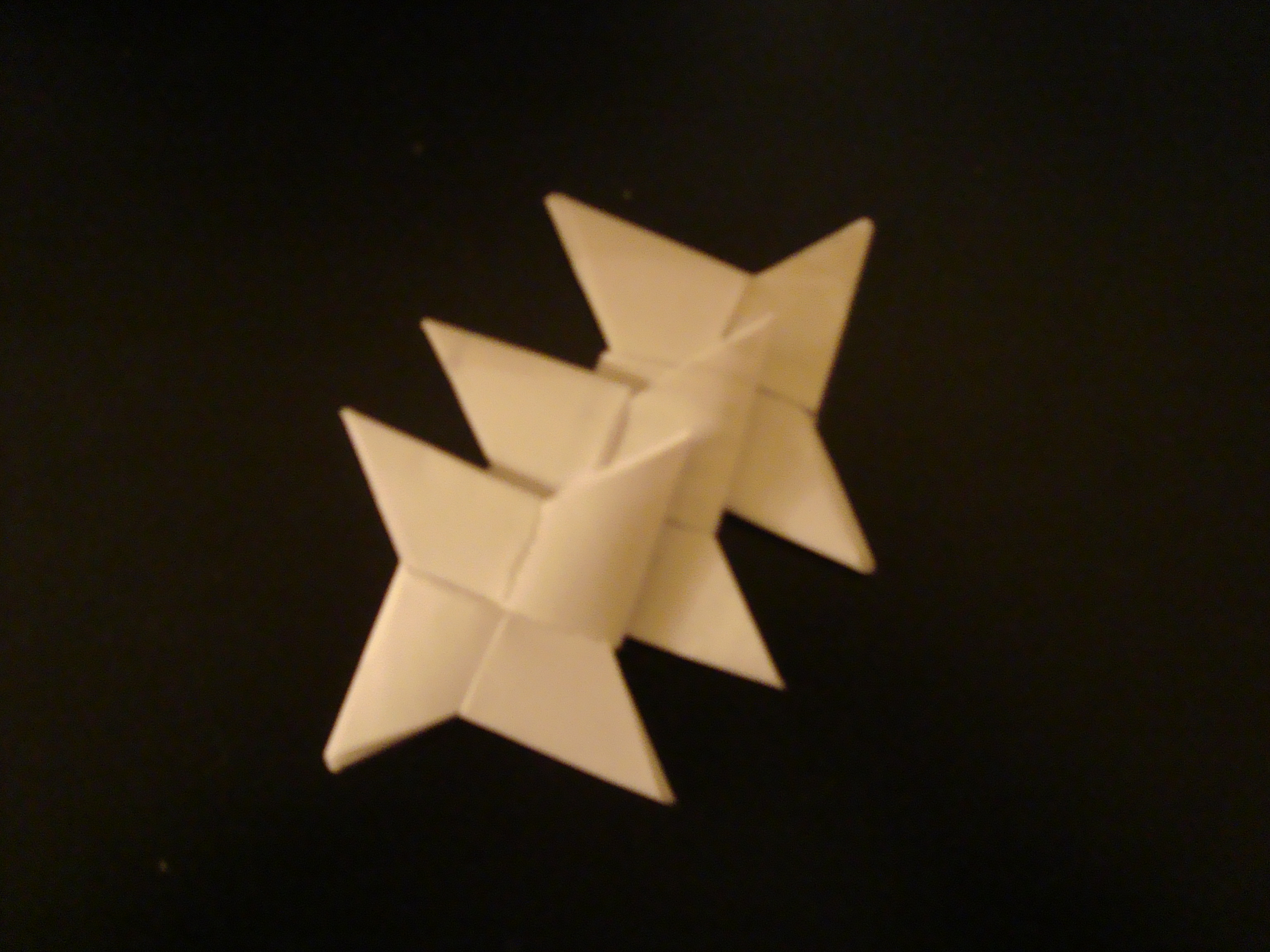 Origami Throwing Star