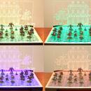 Cómo diseñar y cortar con láser un tablero de visualización iluminado para miniaturas de juegos de guerra