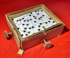 DIY Cardboard Marble Labyrinth