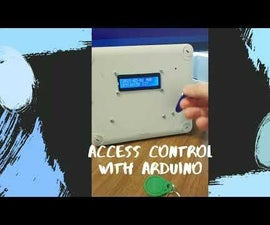 RFID NFC ARDUINO ACCESS TERMINAL
