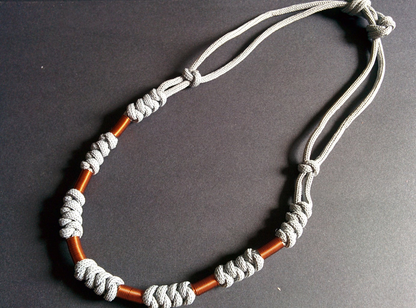 Making the Necklace Length Adjustable