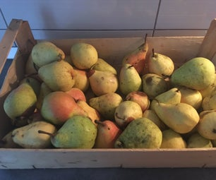 Homemade Pear Juice