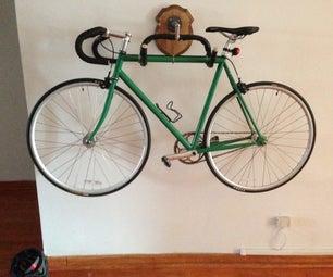 Recycled Handlebar Bike Rack