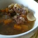 lazy man beef soup