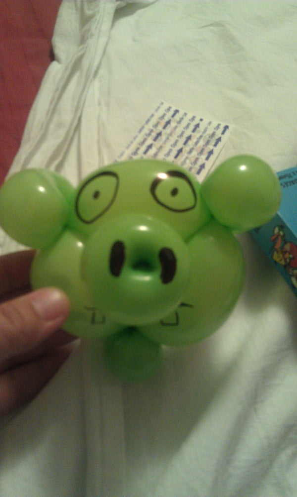 Angry Balloons: Pig to Pummel