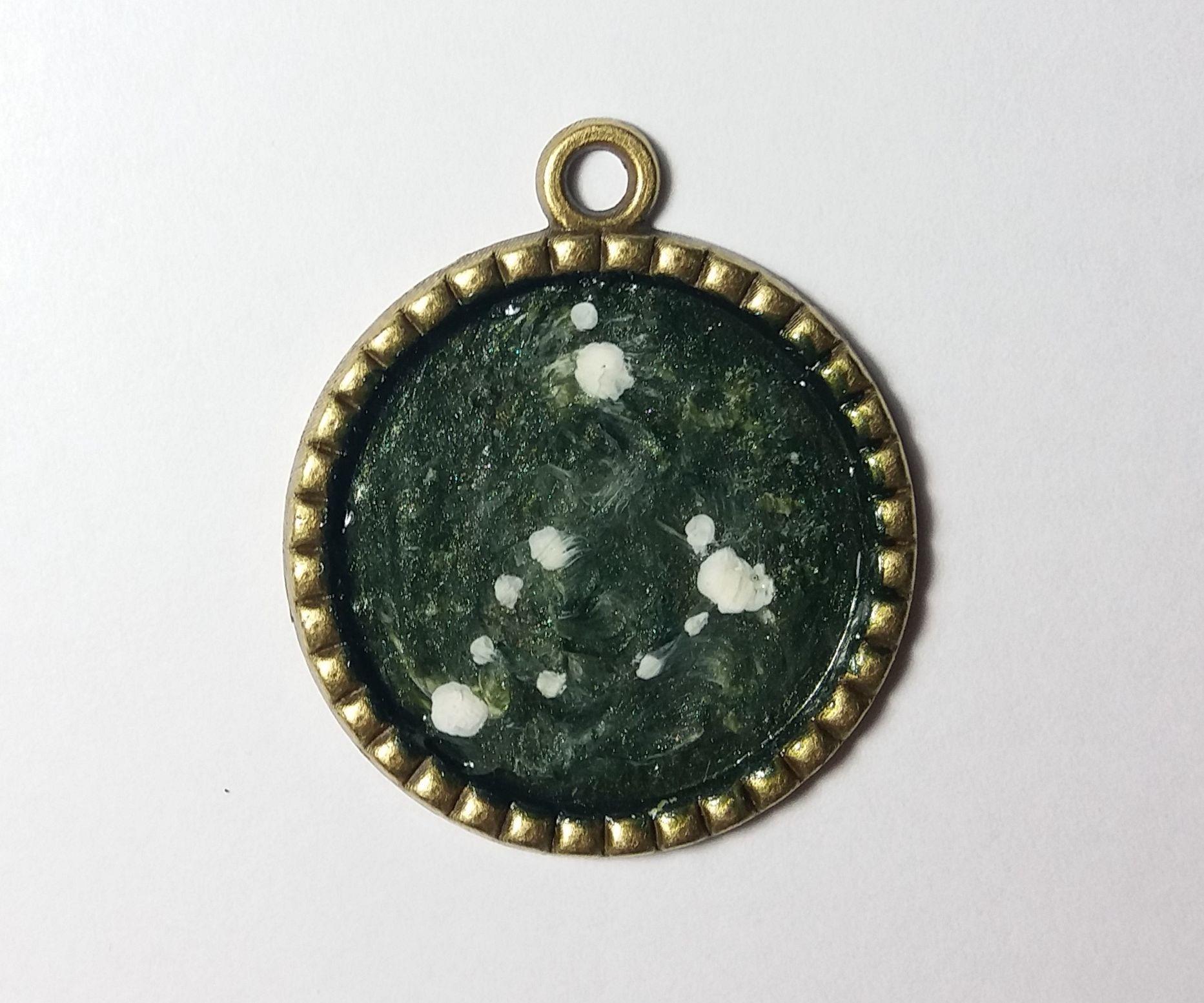 Nail Polish Constellation Pendant