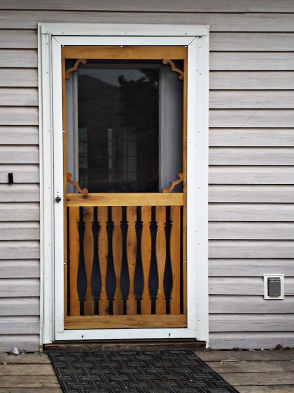 Classy Screen Door Repair