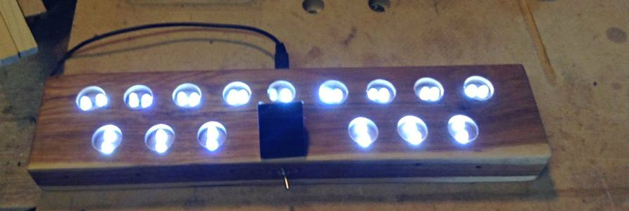 Wire the 30 LEDs