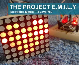 Electronic Matrix — I Love You