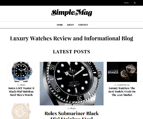 Luxury Watches Review & Informational Blog