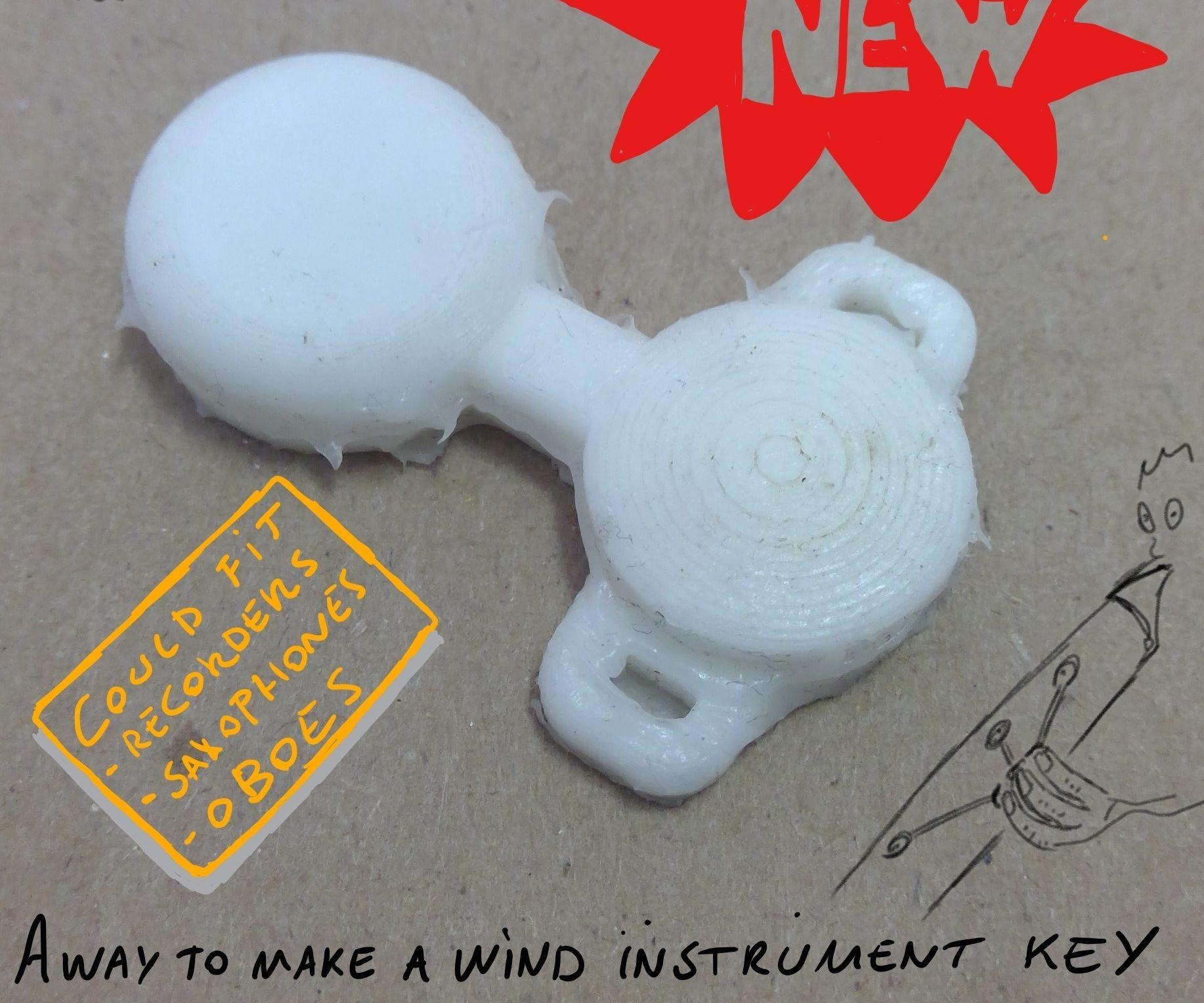 Soft Pneumatic Wind Instrument Key Concept