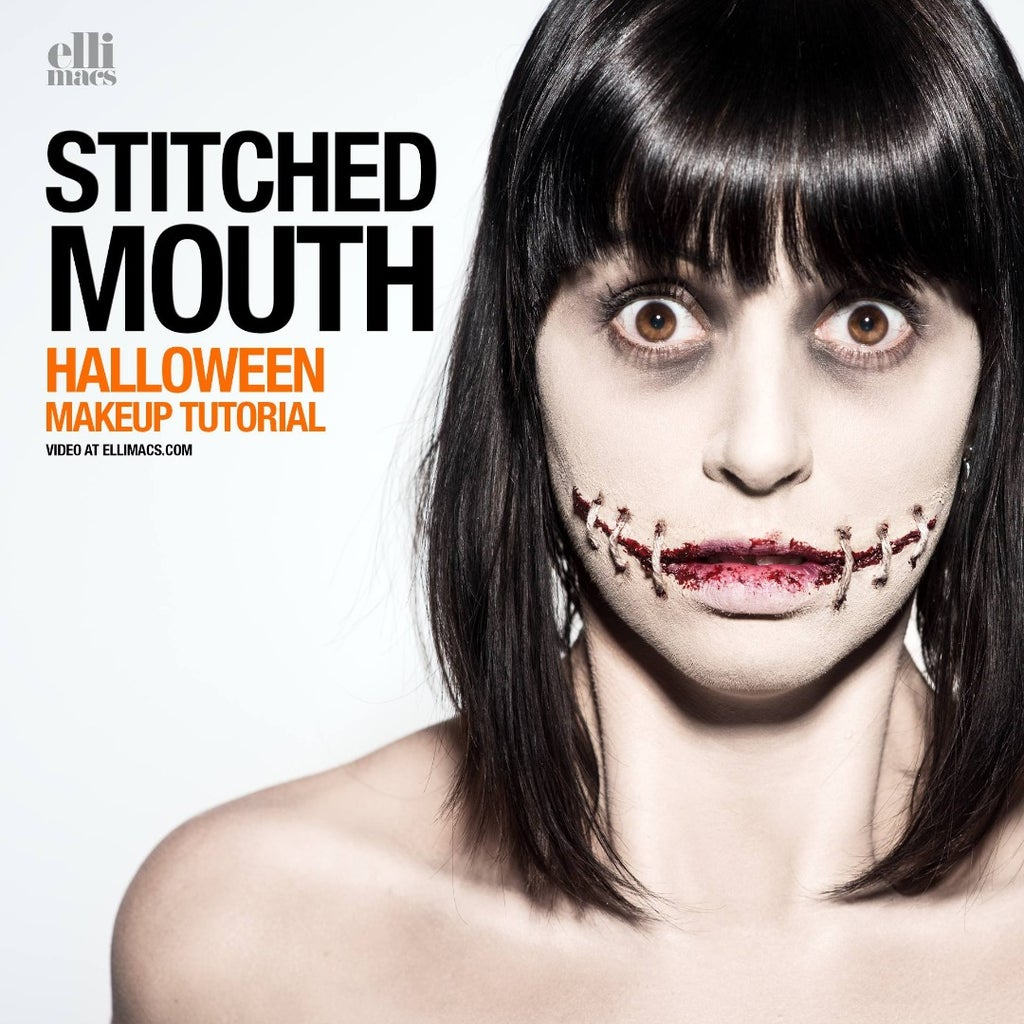 Stitched Mouth - SFX Makeup Tutorial