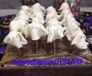 Rice Krispies Ghosts