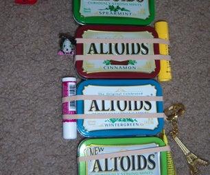 Altoids Tin Travel Kit