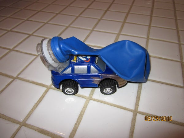 Balloon Powered Toy Car