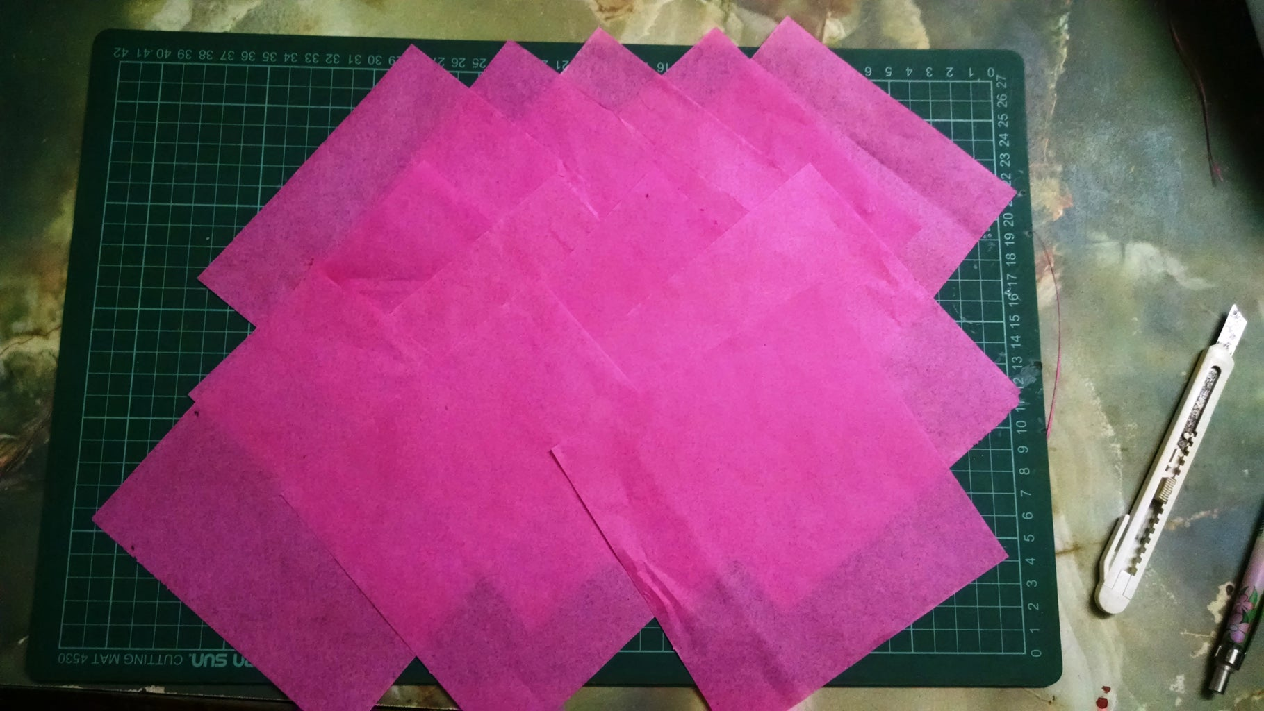 Making the Squares!