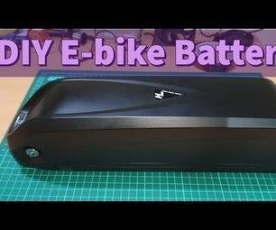 DIY E-bike Battery || Assembling 48V Hailong Battery