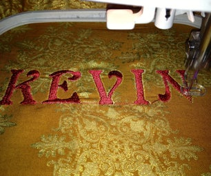 How to Embroider Letters on an Embroidery Sewing Machine