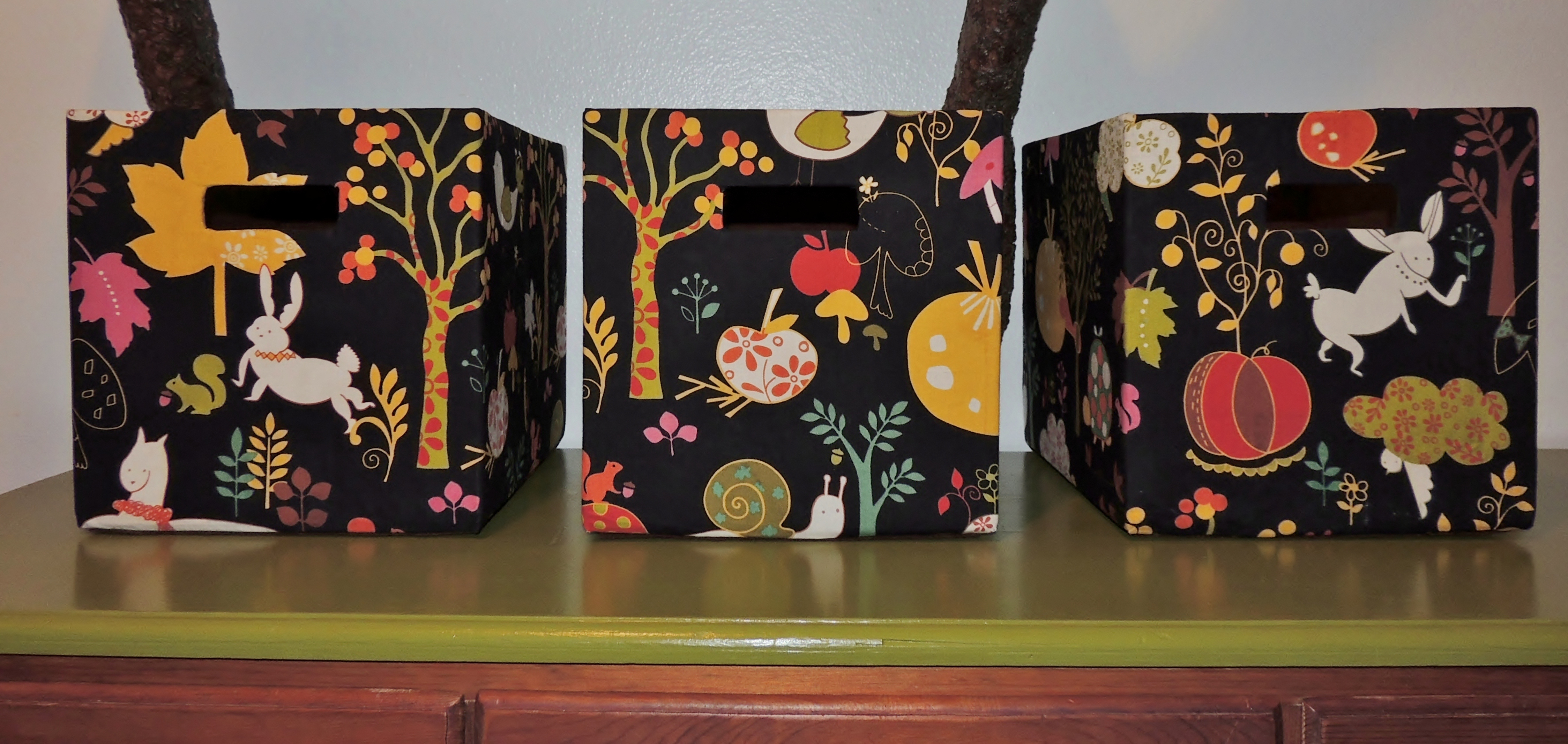 Diy Fabric Storage Boxes 5 Steps With Pictures Instructables