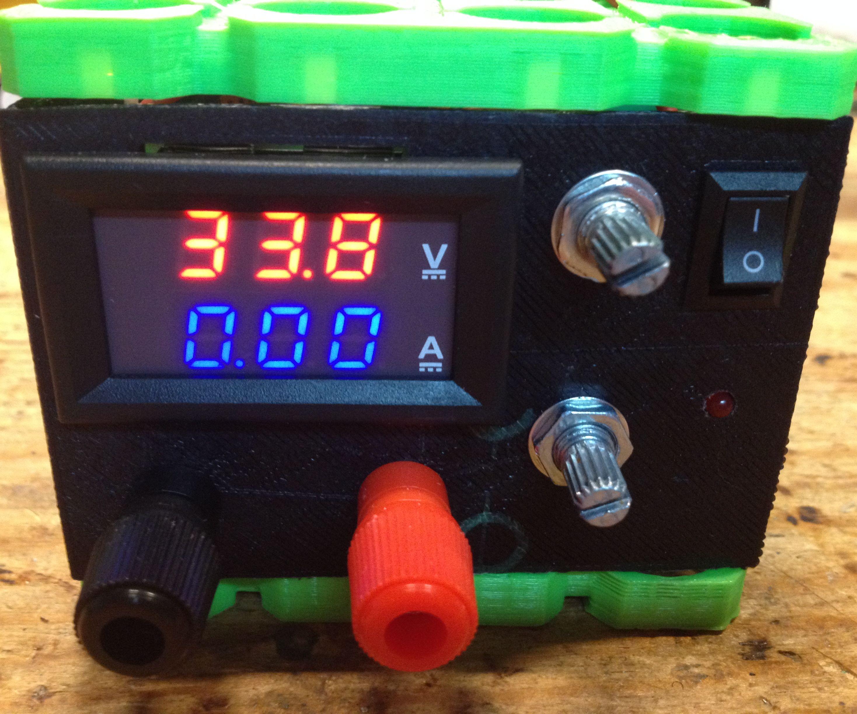 DIY CC CV Variable Bench Power Supply 1-32V, 0-5A