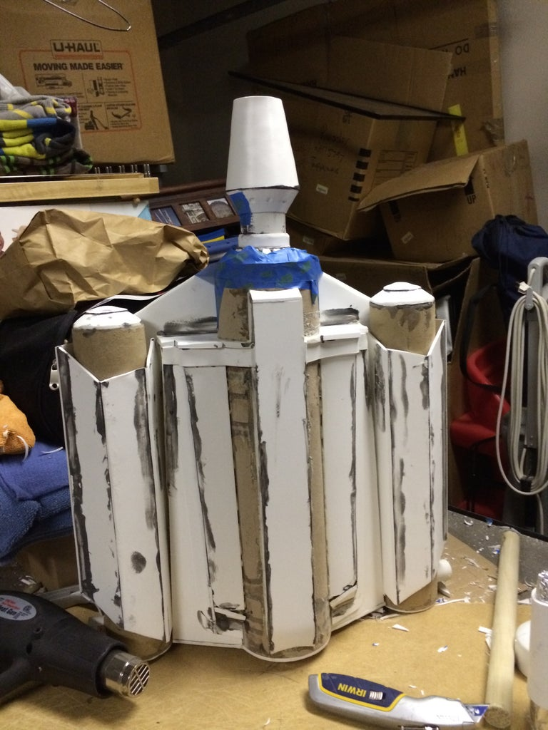 Building the Missile Boost Charge and Missile for a Boba Fett Jetpack