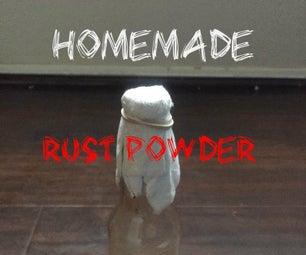 Homemade Rust Powder