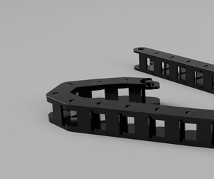 Fully Functional Drag Chain Fusion 360
