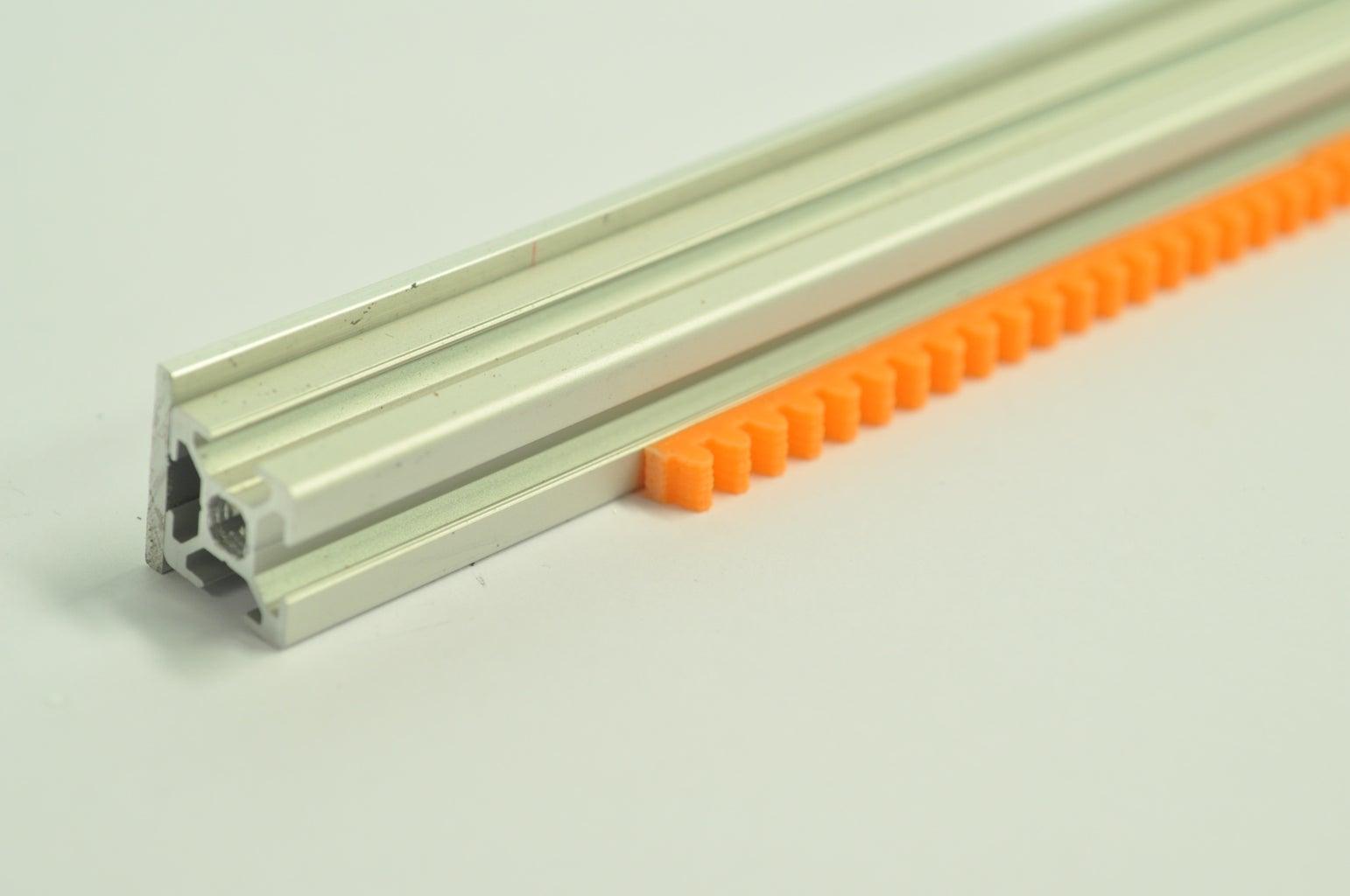 Placing the 'encoder Rack'