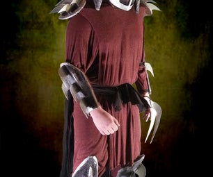 1990 Shredder & Foot Soldier Costume Photos
