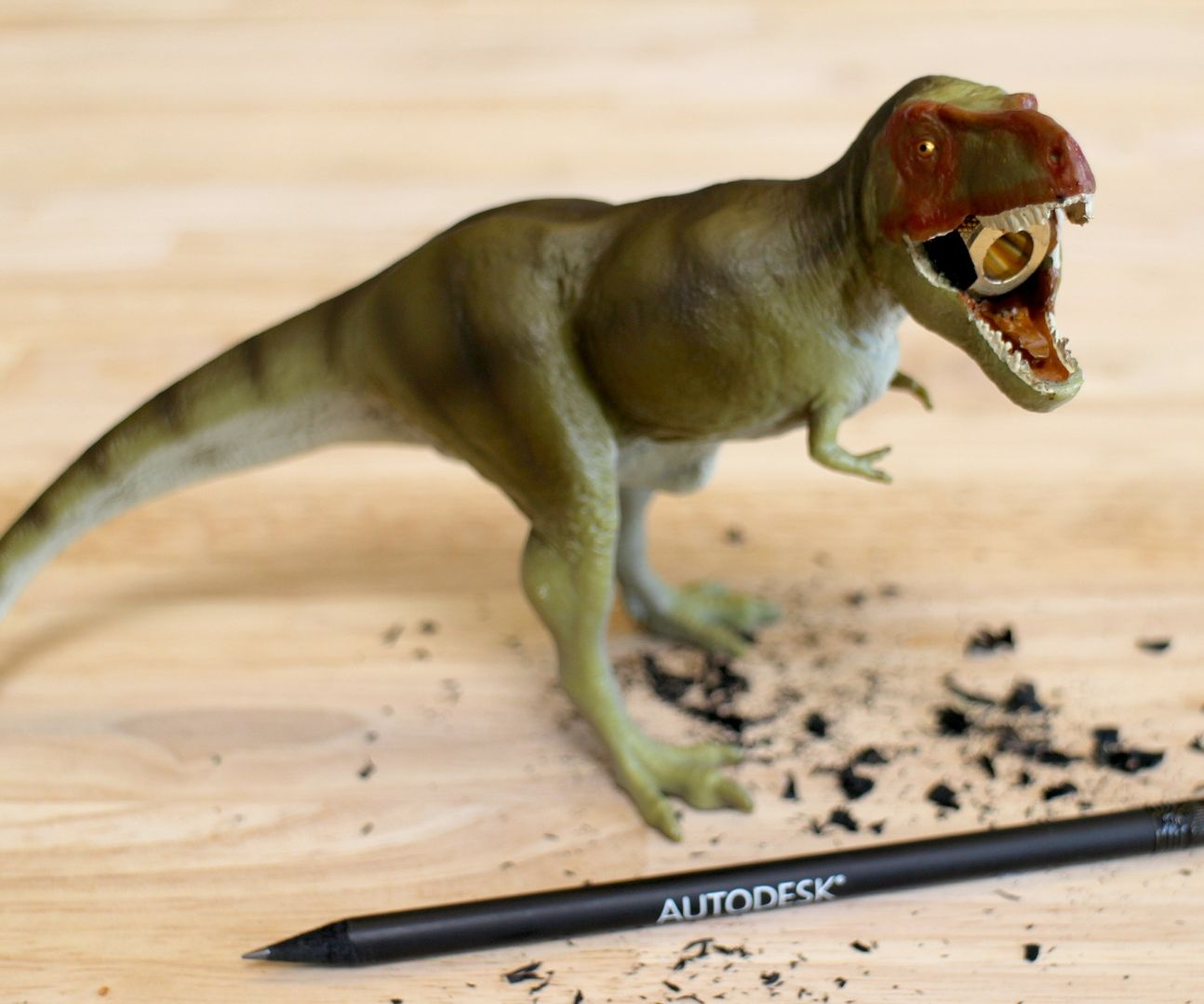 dinosaur pencil sharpener