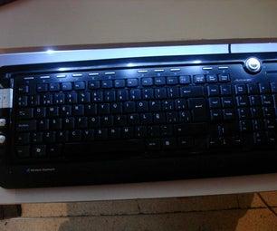 Usb Powered Keyboard Led Lamp