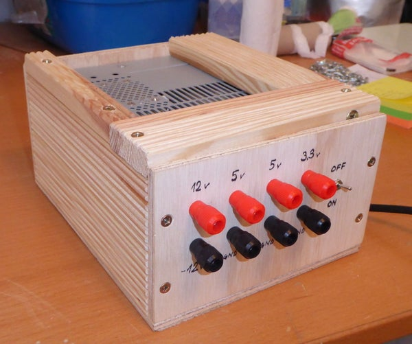 A Simple Bench Variable Power Supply