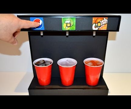 How to Make Soda Fountain Machine at Home