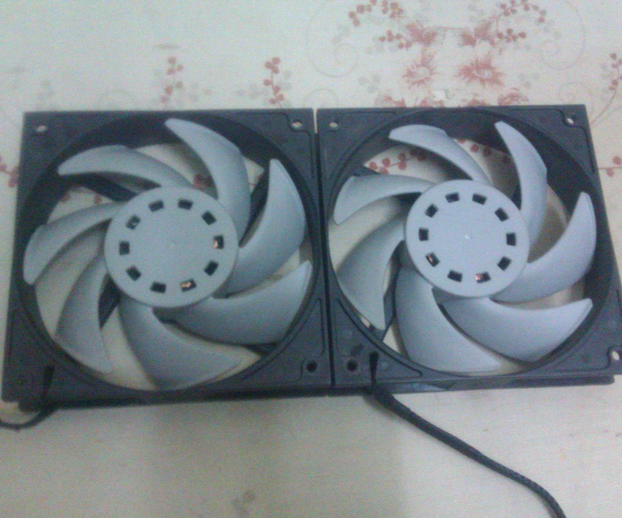 How to open and MOD EK-Vardar F3-120 PC fans