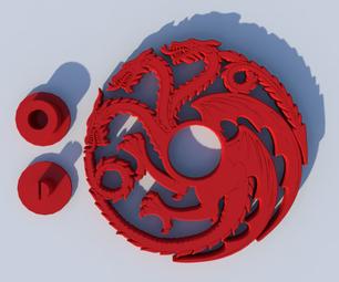 GoT Targaryen Dragon Spinner