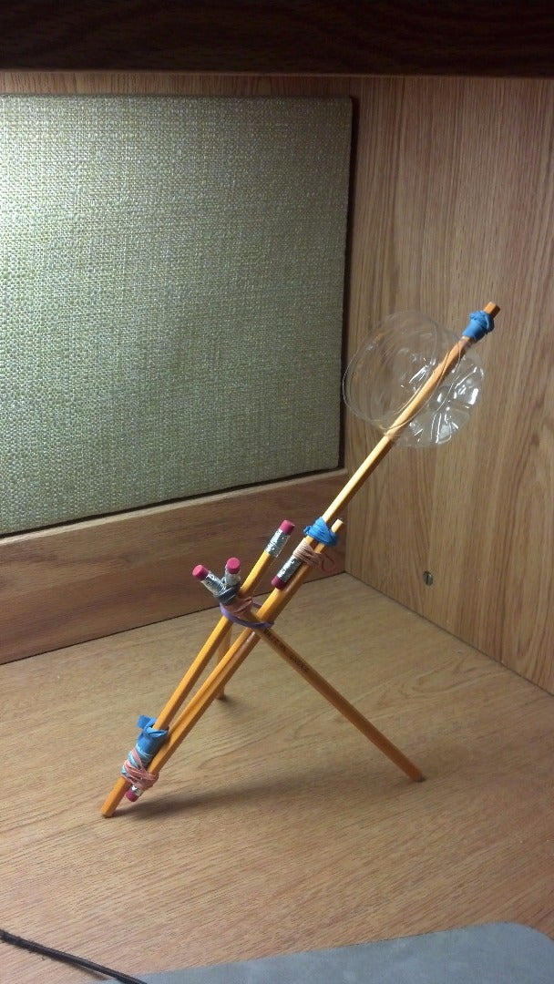 Building the Collapsible Catapult