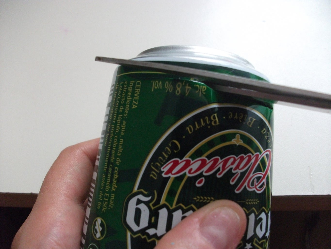Cutting the Can