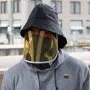 DIY Hoodie W/ Face Shield Attachment