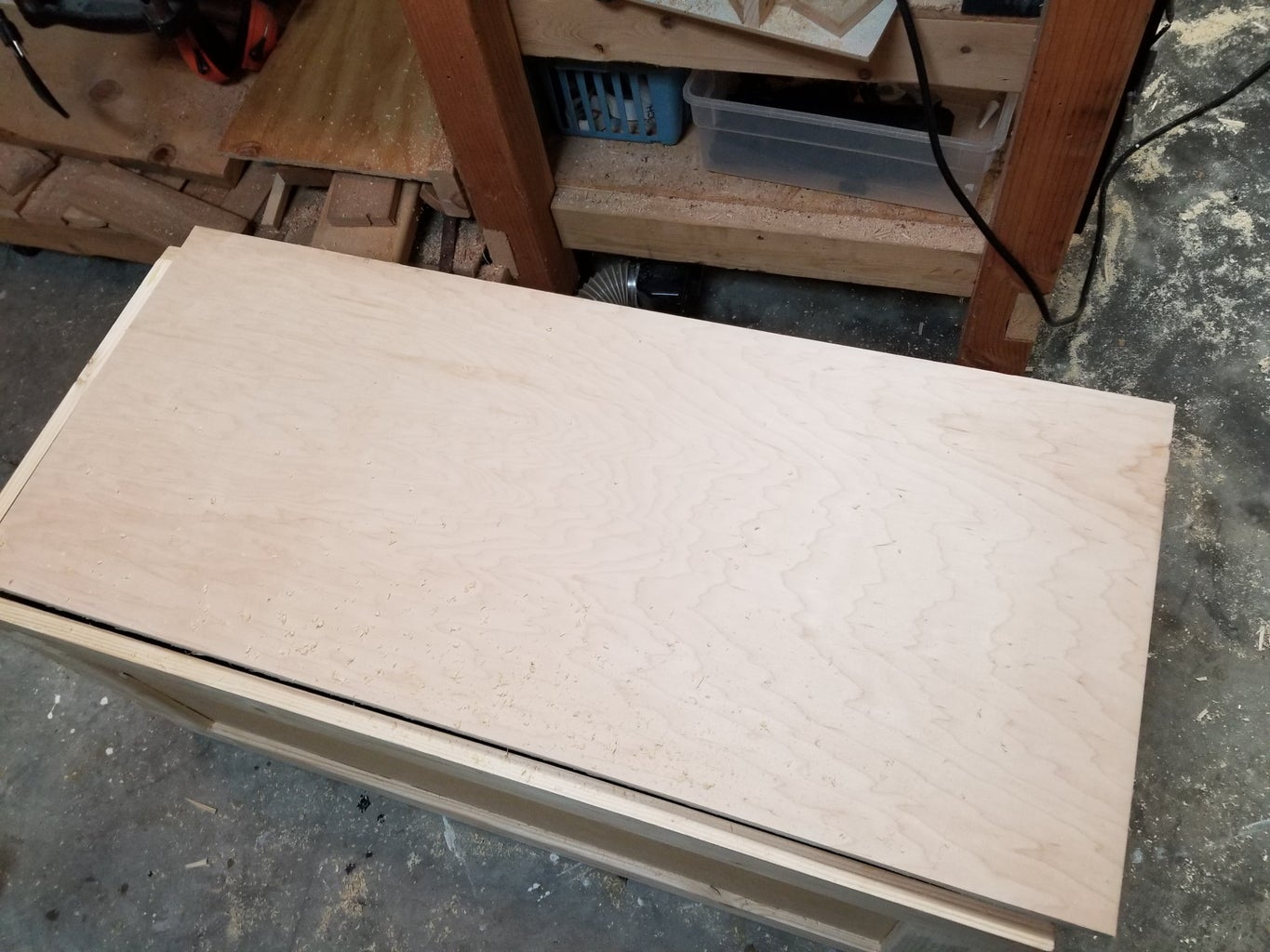 Cut the Top to Length and Width