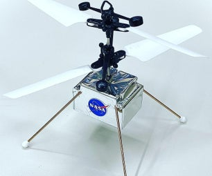 MINI NASA INGENUITY HELICOPTER