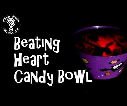 Beating Heart Candy Bowl with LED's and Arduino