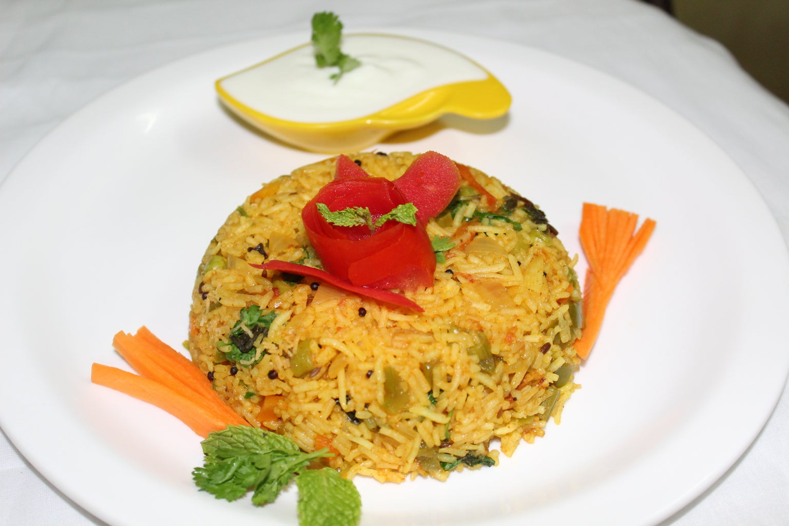 Indian Masala Rice - One Pot Meal