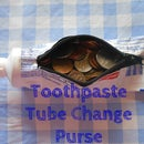Toothpaste Tube Change Purse