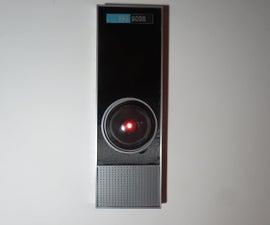 屏幕精确HAL 9000复制品