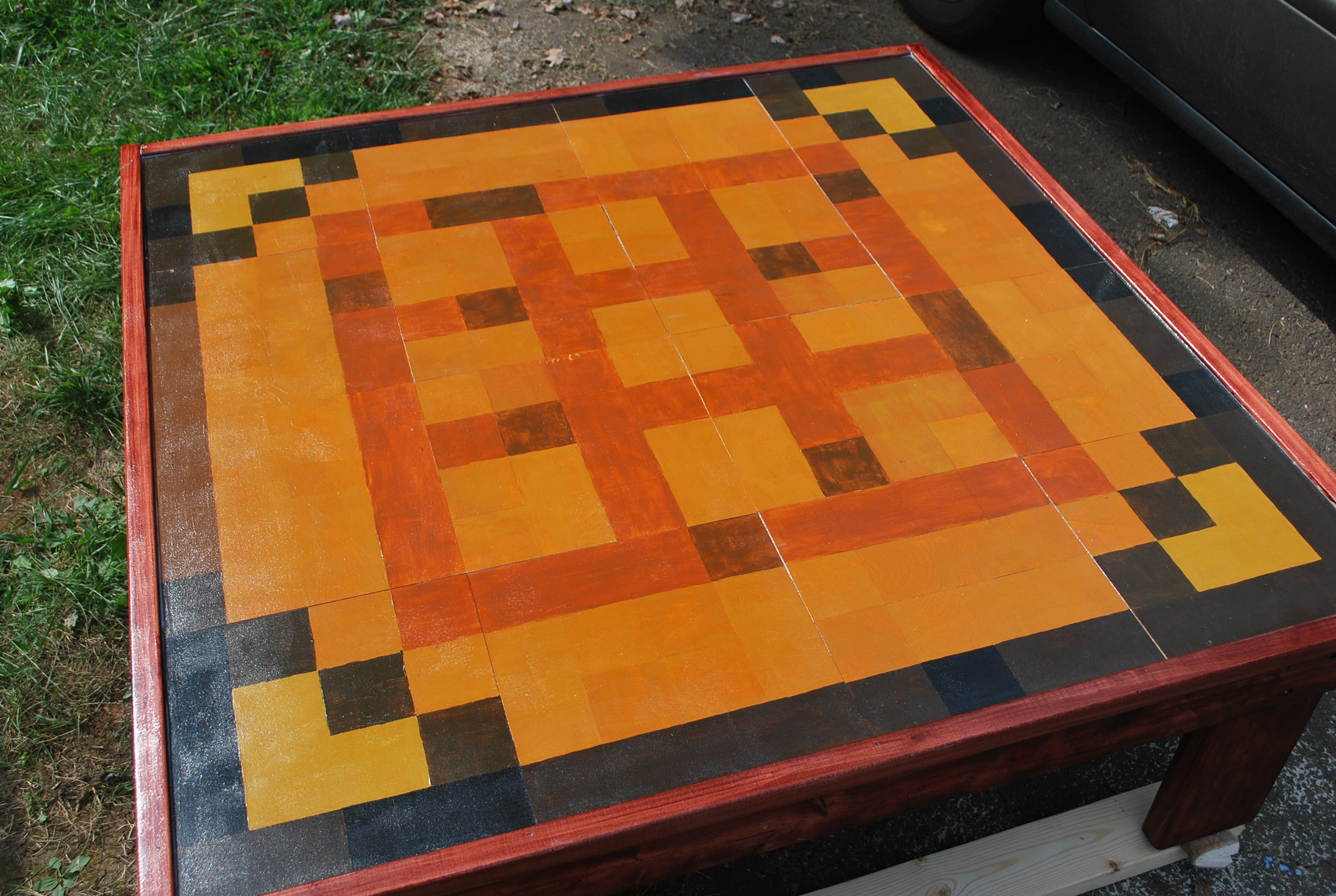 Minecraft Coffee Table : 9 Steps (with Pictures) - Instructables