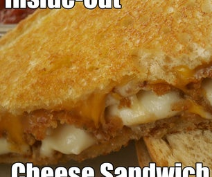 Inside-Out Cheese Sandwich