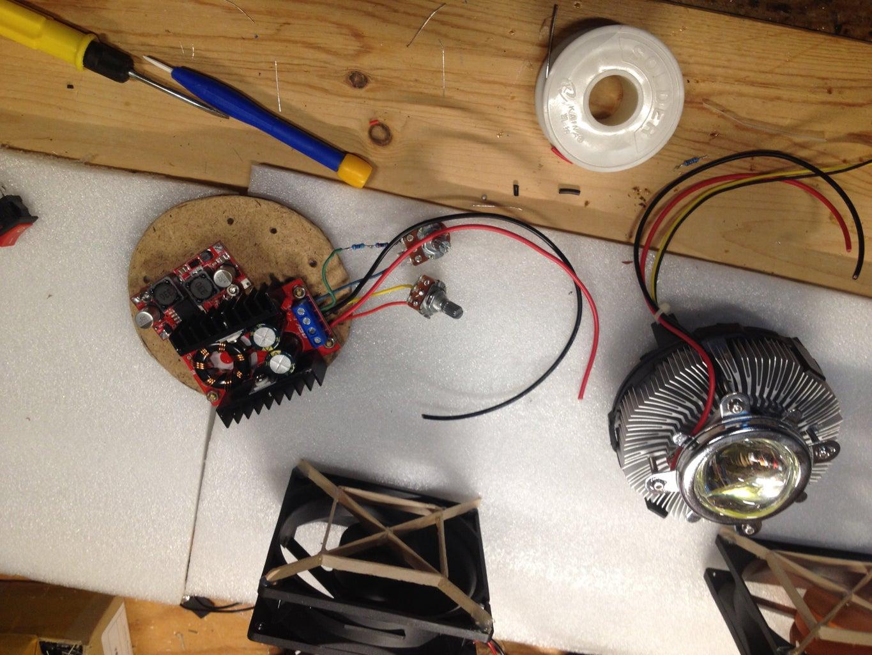 Adjusting DC-DC Converters