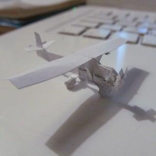 Mini Staple Cessna-172